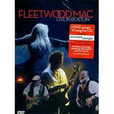Dvd Fleetwood Mac - Live in Boston - 2 Dvd Concert 10 Song Live Cd
