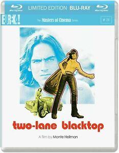 TWO LANE BLACKTOP (1971) Region B [Blu-ray] James Taylor Black Top