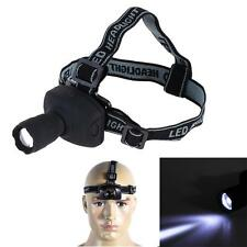 400LM Adjustable LED Zoomable Flashlight Headlamp Headlight Torch For Cyling