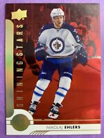 2017-18 Upper Deck SR1 Shining Stars Red #SSL-9 Nikolaj Ehlers Winnipeg Jets
