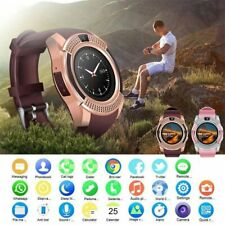 Bluetooth Men Women Smart Watch Wrist Phone Mate Touch for iPhone Android