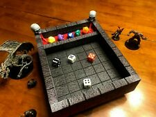 Dice Tray Dungeon Chunks  Skull Dungeons and Dragons Pathfinder D&D  RPG DND