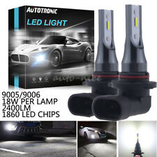 Super Bright LED 9145 9005 Driving Fog Light Bulb 6000K White Upgrade 36W 2400LM