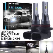 Super Bright LED 9145 9005 Driving Fog Light Bulb 6000K White Upgrade 36W 2400LM