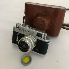 Camera ZORKI-4 Vintage USSR Film Camera With Lens INDUSTAR 50mm/3.5 Lens