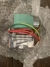 ASCO Red-Hat 8215G20 Solenoid Control Valve Inert Gas Fuel Air 50 Psi 1/2