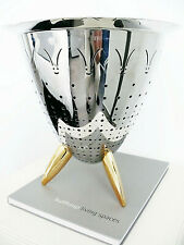 Bulthaup Book + Alessi / Philippe Stark Colander (as seen in) BANG & OLUFSEN