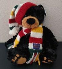 "Pendleton Glacier Park Black Bear Plush Teddy Bear 12"" Gund Stuffed Animal"