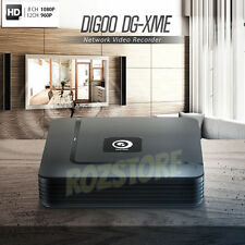 Digoo 4 8 12CH 1080P HDMI P2P ONVIF NVR Network Video Recorder IP Camera System