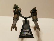 Star Wars ROTJ Action Fleet Endor Leia Luke w/ Speeder Bike 1996 B