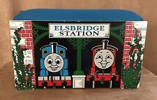 Thomas Storage box seat Train Learning Curve wooden elsbridge station table