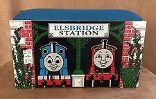 Thomas Storage box seat Train Learning Curve wooden elsbridge station table
