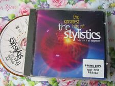 The Stylistics The Greatest Hits Of The Stylistics Let's Put It All  UK CD Album