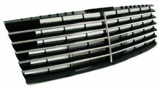 FRONT CHROME-BLACK GRILL FOR MERCEDES W202 93-00 C-CLASS SPORT LOOK