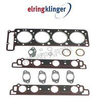 For Mercedes R107 W126 Driver Left Head Gasket Set Elring Klinger 1170104141