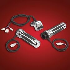 Show Chrome Accessories (17-381) comfort heated Grips For Honda Cruisers