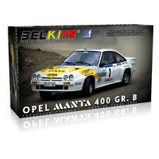 BELKITS Opel Manta 400 GR.B Frequelin 1:24 Car Model Kit