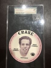 New listing 1976 Crane Discs Roger Staubach Vintage