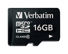 Micro-SD Card 16GB Verbatim SDHC C10 ohne Adapter