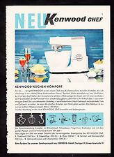 3w2151/ Alte Reklame von 1960 - KENNWOOD - Küchen-Komfort - Stuttgart