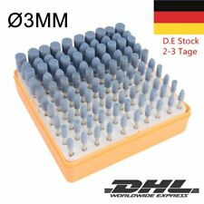 100PCS 3MM Diamant Schleifstifte Frässtifte Kit 10-typ Fräser schleifer Schaft