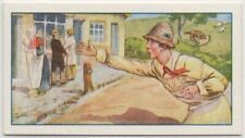 The Little Boy Who Cried Wolf Aesop's Fable Moral Story c85+ Y/O Ad Trade Card