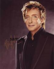 BARRY MANILOW 1 REPRINT 8X10 AUTOGRAPHED SIGNED PHOTO PICTURE COLLECTIBLE SINGER