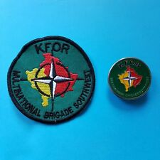 Germany Austria MULTINATIONAL BRIGADE SOUTH WEST NATO KFOR Army Badge and Patch