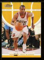 Sebastian Telfair Card 2005-06 Finest Refractors Gold #72