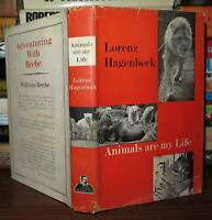 Hagenbeck, Lorenz ANIMALS ARE MY LIFE  1st Edition 1st Printing