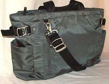 Tumi Icon Wilson Tote Briefcase Computer Messenger Bag Carryon Luggage Grey Smpl