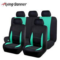 Universal Car Seat Covers Set Truck SUV Van Honda Protectors Black Mint Green