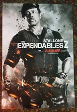 EXPENDABLES 2 Movie Poster 27x40 DS Authentic Sylvester Stallone