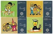 Lote de 14 postales Lotería Nacional. Año Internacional del Niño y otras