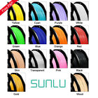 SUNLU 3D Printer Filament 1.75mm PLA PETG SILK PLA+ 1kg TPU500g Multiple Color