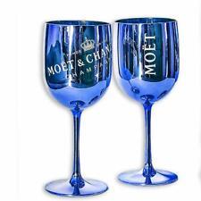 Moët & Chandon Ice Imperial Plastic Champagne Glasses Blue
