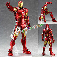 The Avengers de Marvel Iron Man Marcos Action Figure Collection ninguna caja