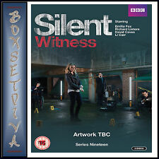 SILENT WITNESS - COMPLETE SERIES 19  *BRAND NEW DVD***