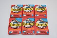 11 Pack Lot  Six 1988 Donruss  One 1989 Donruss Four 1990 Bowman Factory Sealed
