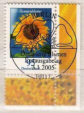 Bund 2434 Bogen - E-Stempel - Blumen 95  Cent aus 2005