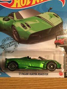 2020 Hot Wheels #241 17 PAGANI HUAYRA ROADSTER SUPER TREASURE HUNT TH
