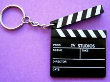 Bulk Lot x 12 Mini Movie Clapper Board Keyrings Kids Party Favors Novelty NEW