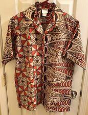 New listing � Vintage Men's Hawaiian Polynesian 'Tapa Designs Hawaii' Brand size M