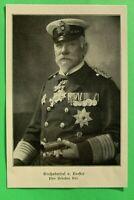 UM1) Marine Großadmiral von Koester 1914-1918 viele Orden Spange Stern 1.WK WWI