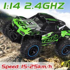 1:14 RC Auto Ferngesteuerter Offroadcar Kinder Spielzeug Monster Truck 25km/h
