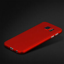 360° Full Cover Slim Hybrid PC Hard Front + Back Case Cover For Samsung Galaxy