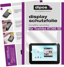 2x Toshiba AT300SE Tablet Schutzfolie klar Displayschutzfolie Folie dipos