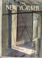 1988 New Yorker December 12 - Little Girls' Ballet on Broadway by Sempe