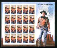 US 3876 37c Legends of Hollywood: John Wayne Mint Sheet H