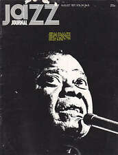 JAZZ JOURNAL MAGAZINE 1971 AUG LOUIS ARMSTRONG, ROY ALDRIDGE, MONTREAUX 71
